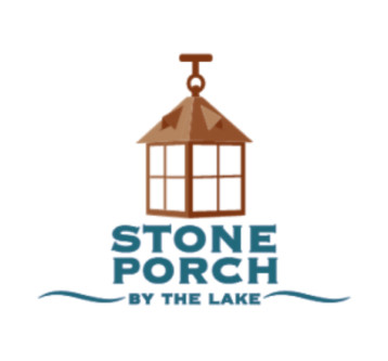 STONE PORCH BY THE LAKE